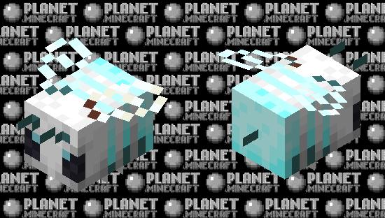 Polar bee Minecraft Skin