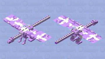 Galaxy beast Minecraft Mob Skin