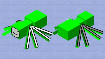 Dream Spider Skin Minecraft Mob Skin