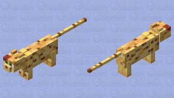 Big boi cat in da tiny hat Minecraft Mob Skin