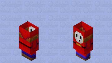 Shy guy / From: Super Mario Minecraft Mob Skin
