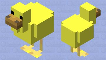 Duck Skin Minecraft Mob Skin