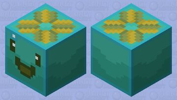 Tangle Slime [Slime Rancher] Minecraft Mob Skin
