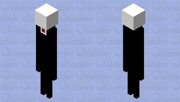 creepypasta - slenderman Minecraft Mob Skin