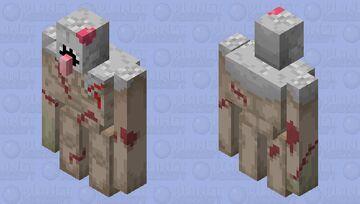 Flesh Golem Minecraft Mob Skin
