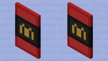 Girls Cape 45 McDonald's Cape Minecraft Mob Skin