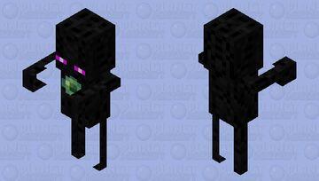 Endersent / Remade Re-texturing / Minecraft Dungeons:Echoing Void Minecraft Mob Skin