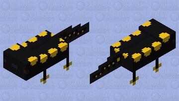 [axolotl] yellow-spotted salamander Minecraft Mob Skin