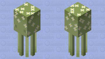 daisy squid Minecraft Mob Skin