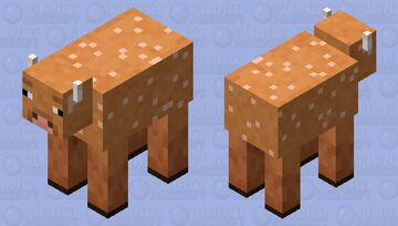 sheared wooly cow (minecraft earth) Minecraft Mob Skin