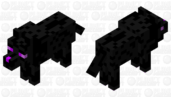 End Wolf Minecraft Skin