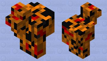 Chicken of the nether Minecraft Mob Skin