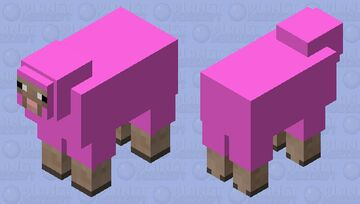 well now i think  whit is rear Minecraft Mob Skin