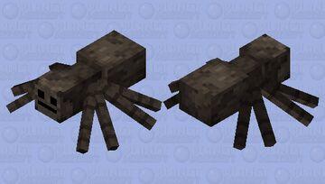 Cute Spider Minecraft Mob Skin