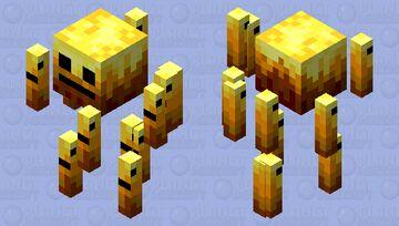 Cute Blaze (READ DESC) Minecraft Mob Skin