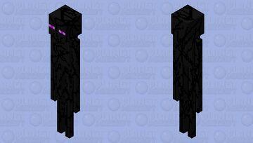 changed enderman Minecraft Mob Skin