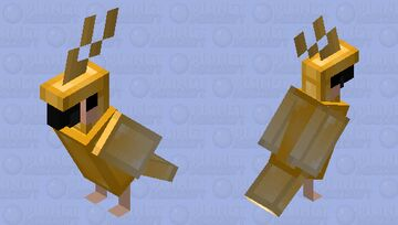 golden boy (thx for 50 subs) Minecraft Mob Skin