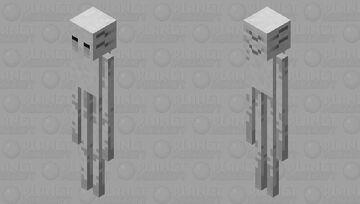 enderman + ghast Minecraft Mob Skin