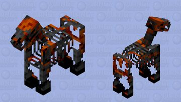 Wither Horse Minecraft Mob Skin