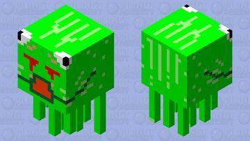 Murmet the Ghrog (Shooting) Minecraft Mob Skin