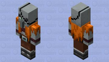 The Old Pillager Minecraft Mob Skin