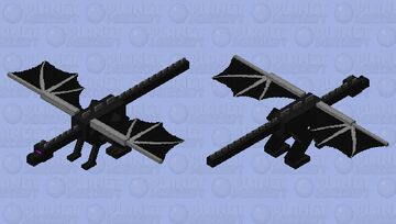 when the Ender dragon is sus!!! Minecraft Mob Skin