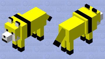 Toomuchdog wolf mob skin Minecraft Mob Skin