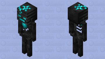 Soul-hearted Wither Skeleton Minecraft Mob Skin
