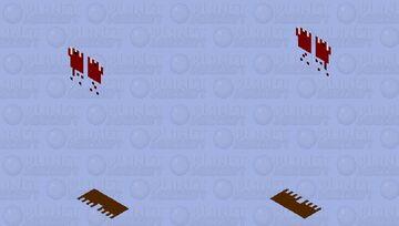 bloody vilager Minecraft Mob Skin