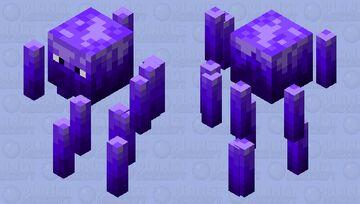 Ender Blaze Minecraft Mob Skin