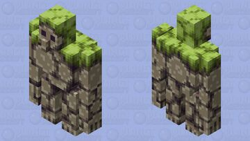 mountain stone golem [biome swap] Minecraft Mob Skin