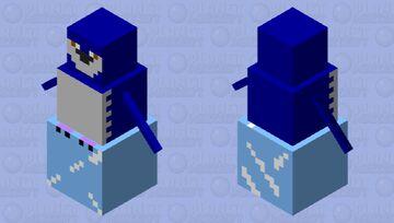 the blue fairy  penguin Minecraft Mob Skin