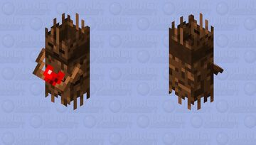 Totem of Regeneration / From Minecraft Dungeons / 3D version Minecraft Mob Skin