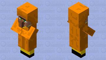 Orange Trader Minecraft Mob Skin