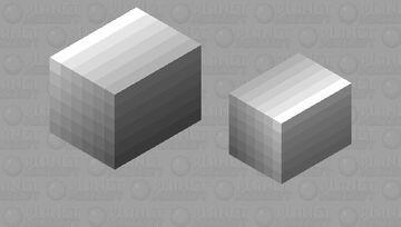 Metallic Box Minecraft Mob Skin