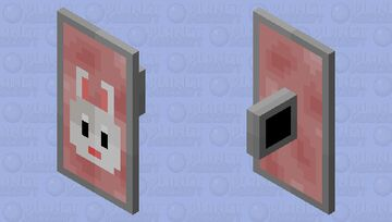 Bunny Shield Minecraft Mob Skin