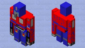Optimus-prime Minecraft Mob Skin