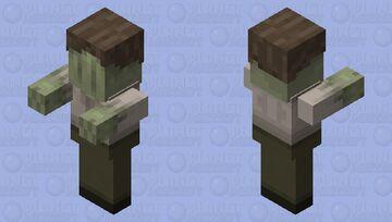 ln2 male viewers / great war era male zombie Minecraft Mob Skin