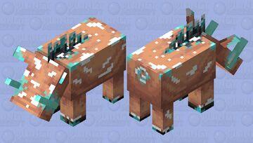 Frozen Hoglin Minecraft Mob Skin