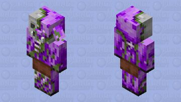 End zombified piglin (complete) Minecraft Mob Skin