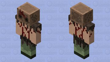 Cult Leader (Dead Space 3) Minecraft Mob Skin