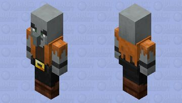 Pillagers Pirate re-texturing / (no level for now) Minecraft Mob Skin
