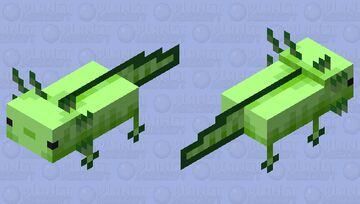 Axolotl blue old / green / remade / minecon live texture pack v 1.1 Minecraft Mob Skin