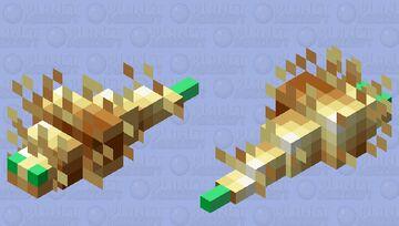 Totem Silverfish Minecraft Mob Skin