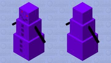 Void Snow Golem Minecraft Mob Skin