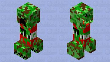 Updated Creeper II Minecraft Mob Skin
