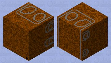 Cable TV MDU RUSTED Minecraft Mob Skin