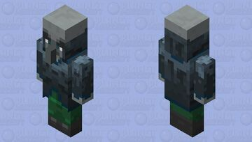 The Owner Minecraft Mob Skin