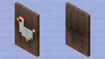 Chickin Minecraft Mob Skin