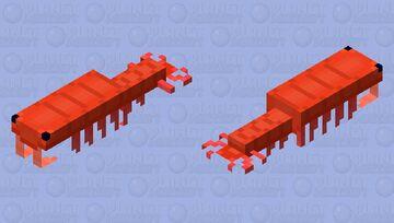 Anomalocaris Minecraft Mob Skin